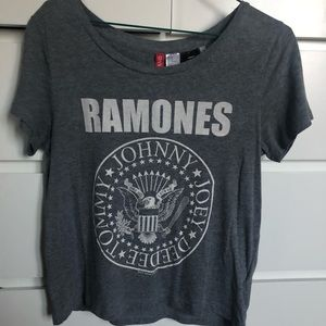 H&M Ramones Graphic Tee